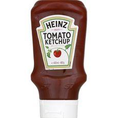 Heinz tomato ketchup flacon top down 460g
