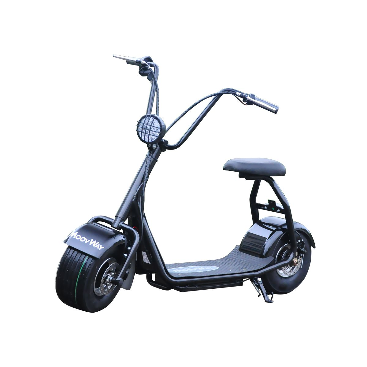 Scooter électrique avec selle Coco Junior Noir