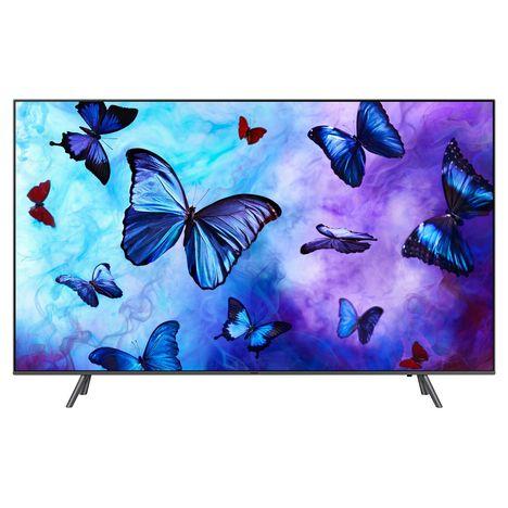 SAMSUNG 75Q6F 2018 TV QLED 4K UHD 189 cm HDR Smart TV Argent