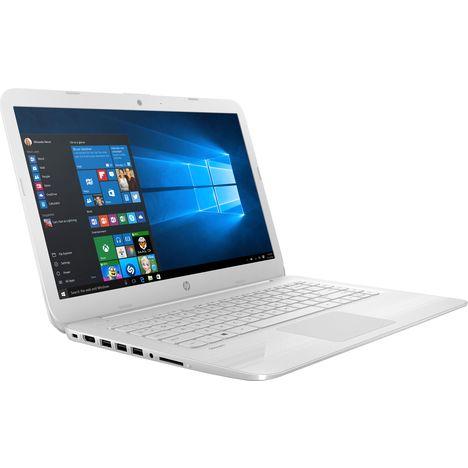 92237510b6d0fc HP Ordinateur portable Stram Laptop 14-cb038nf - 32 Go - Blanc .