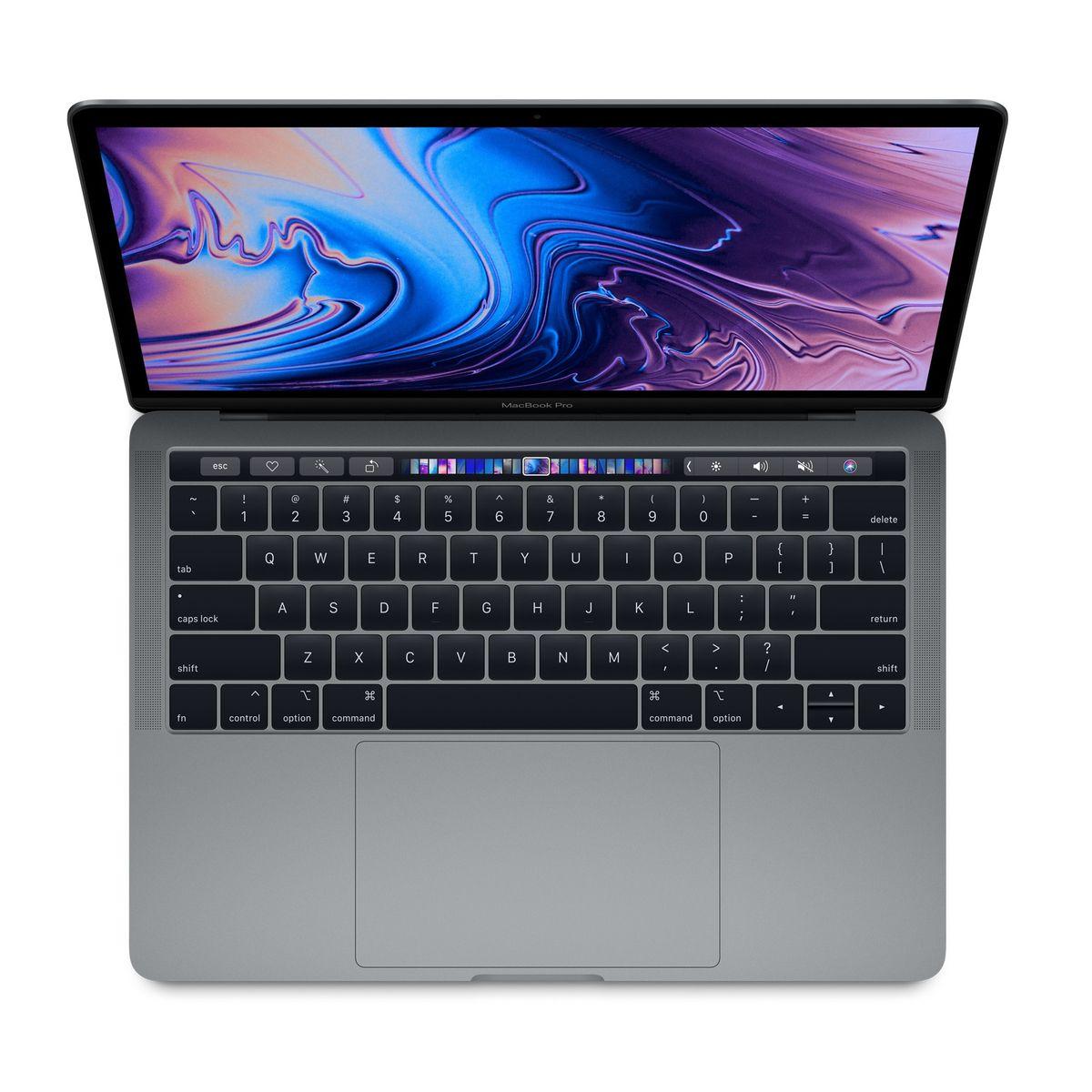 APPLE Ordinateur portable MacBook Pro MR9Q2FN/A - 256 Go - 13.3 pouces - Gris Sidéral