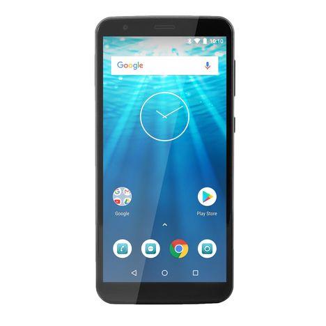 QILIVE Smartphone - Q10 - 16 Go -  6 pouces - Noir