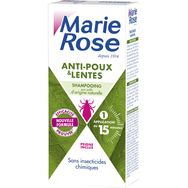 Marie Rose Shampooing anti-poux & lentes avec peigne 125ml