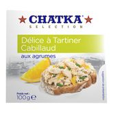 Chatka délices à tartiner cabillaud aux agrumes 100g