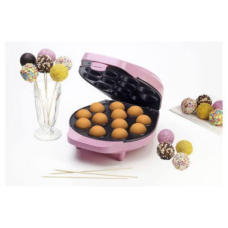 BESTRON Appareil à popcakes DCPM12 Sweet Dreams, Rose