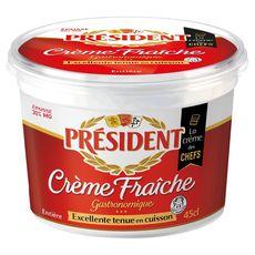 Président crème fraîche épaisse 30% pot 472g