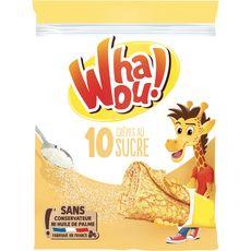 Whaou crêpes au sucre x10 -256g