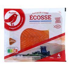 Auchan saumon fumé d'Ecosse mini x4 - 140g