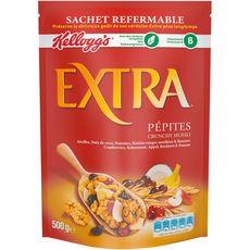 Kellogg's Extra céréales aux pépites de fruits 500g