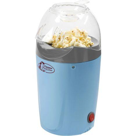 BESTRON Machine à pop corn APC1007 Sweet Dreams, Bleu