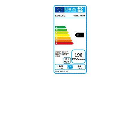 6c223b01e55 QE55Q7F2018 TV QLED 4K UHD 138 cm HDR Smart TV SAMSUNG pas cher à ...