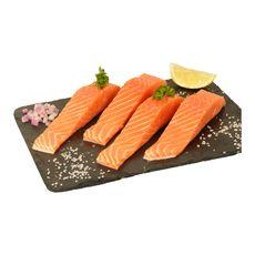 Pavés de saumon filière responsable x4 -560g 4 pièces 560g