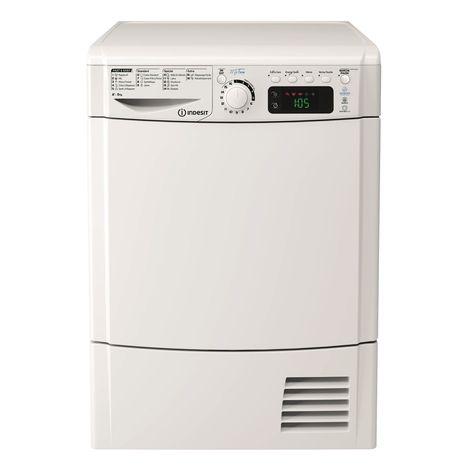 INDESIT Sèche-linge porte pleine EDPE G45 A1 ECO (FR), 8 Kg, Condensation, Pompe à chaleur