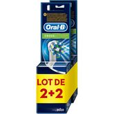Oral B brossettes cross action 2x2