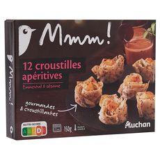 Auchan Gourmet Mini croustillant apéritif 150g