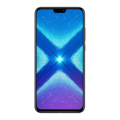 HONOR Smartphone - 8X - 128 Go - 6.5 pouces - Noir