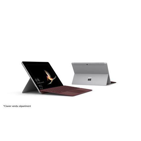 MICROSOFT PC Hybride Surface Go 128 Go - Noir / Gris