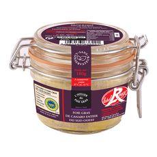 L'ATELIER DU FOIE GRAS Foie gras de canard entier du Sud-Ouest 180g