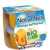 Nestlé bio naturnes courge butternut 2x130g dès4/6mois