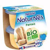 Nestlé bio naturnes panais 2x130g dès4/6mois
