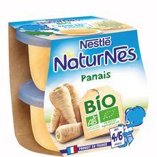Nestlé Naturnes bol au panais bio dès 4 mois 2x130g