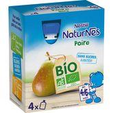Nestlé bio naturnes gourde poire 4x90g dès4/6mois