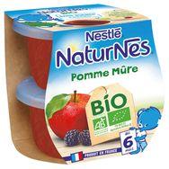 Nestlé bio naturnes pomme mûre 2x115 dès 6mois