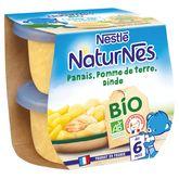 Nestlé Naturnes bio panais pomme de terre et dinde 2x190g dès6mois
