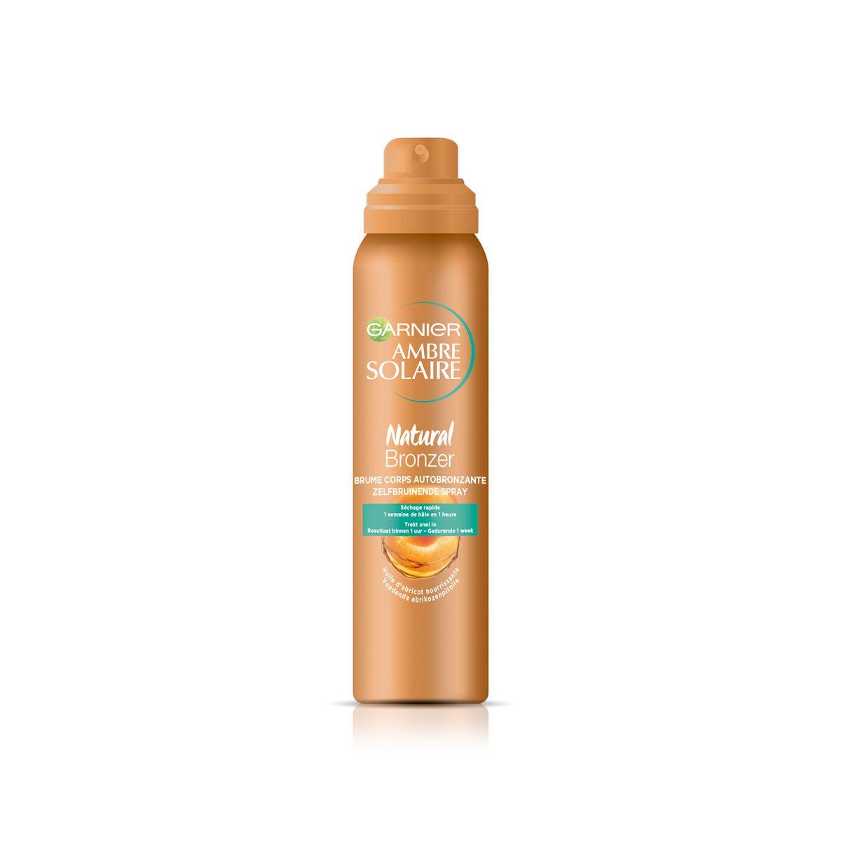 Garnier Ambre Solaire brume bronzante visage & corps huile d'abricot 150ml