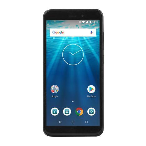 QILIVE Smartphone - Q10S55 - 16 Go - Ecran 5.5 pouces - Noir - Double SIM - 4G