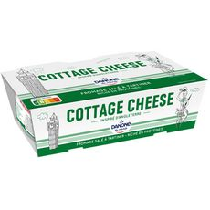 DANONE Jockey Cottage cheese fromage frais 2x200g
