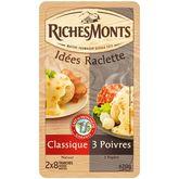 Riches Monts raclette duo poivre tranche 420g