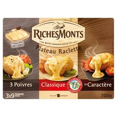 RichesMonts plateau assortiment 700g