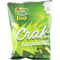 Terres et céréales bio crak' cacahuètes bio  50g
