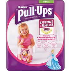 HUGGIES Huggies Pull-ups couches d'apprentissage fille taille M (14-18kg) x26 26 culottes