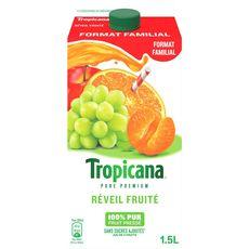 Tropicana pur jus de fruits réveil fruité 1,5l