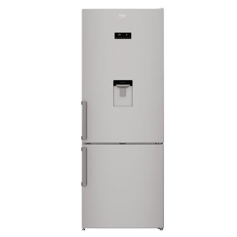 BEKO Réfrigérateur congélateur combiné RCNE520E21DS, 450 L, Froid ventilé