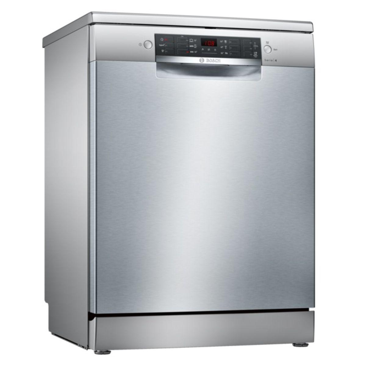 Lave-vaisselle Pose libre SilencePlus SMS46AI01E, 12 Couverts, 60 cm, 46 dB, 6 Programmes