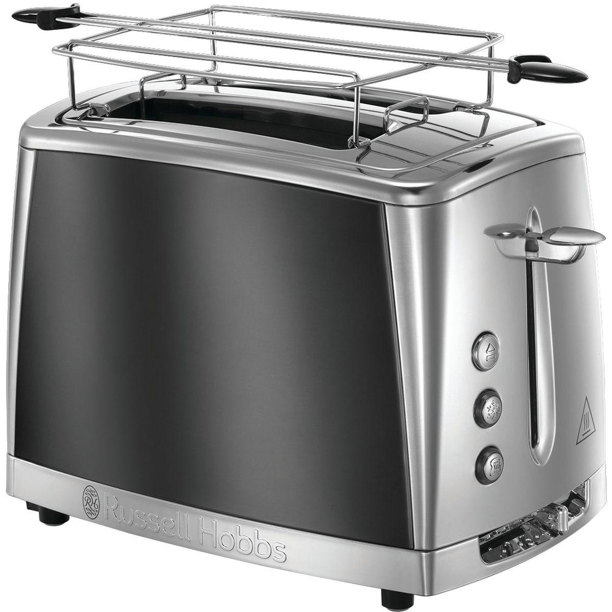 Toaster Luna 23221-56 - Gris clair de lune/inox