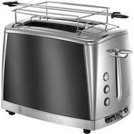RUSSELL HOBBS Toaster Luna 23221-56 - Gris clair de lune/inox
