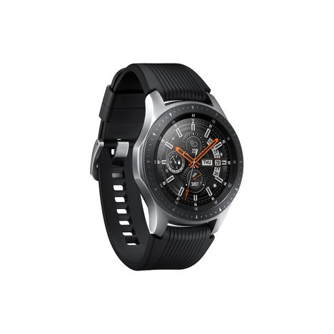 SAMSUNG Pack montre connectée + bracelet marron - Galaxy Watch - Wifi - Bluetooth - Gris