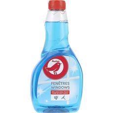 AUCHAN Recharge spray nettoyant pour vitres 500ml