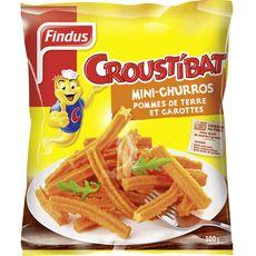 FINDUS Findus Crousti'bat mini churros 500g 500g