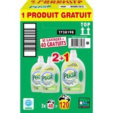 PERSIL Persil lessive liquide amande douce 2x2l +2l offerts