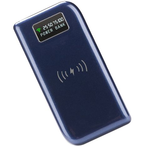 BLAUPUNKT Batterie de secours induction - 8000 mAh - Bleu
