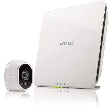 ARLO Kit vidéo surveillance - Wifi - Sans fil - Intérieur/extérieur - Infra-rouge - WMC 3030