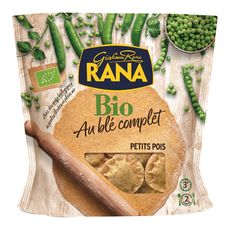 Rana raviolis aux petits pois bio 250g