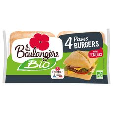 La Boulangère pain burger bio 330g