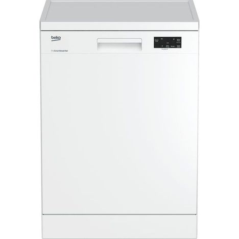BEKO Lave vaisselle pose libre UDFN15310W, 13 couverts, 60 cm, 47 dB, 5 Programmes