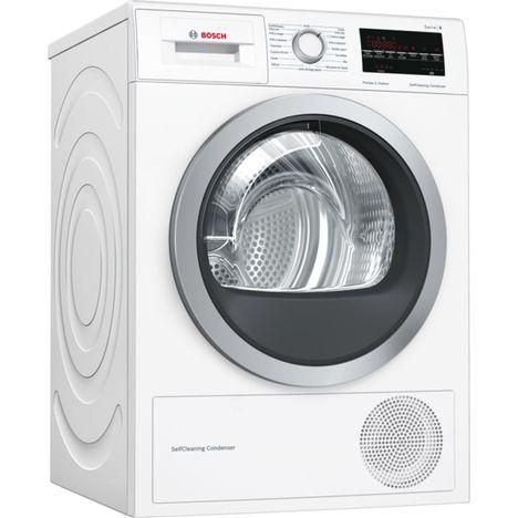 BOSCH Sèche-linge hublot WTW85460FF, 8Kg, Condensation, Pompe à chaleur
